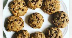 De très bons cookies réalisés avec de l'huile de coco et du sucre de coco