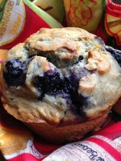 Turnips 2 Tangerines: Sourdough Blueberry Muffins
