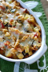 33 Shades of Green: Tasty Tuesdays: Baked Ziti with Summer Veggies