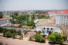 View of Vientiane