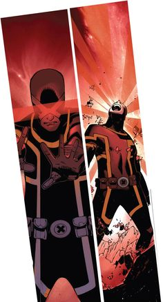 Cyclops by Chris Bachalo Marvel Comics, Marvel Comic Books, Comic Movies, Marvel Characters, Comic Books Art, Comic Art, Jack Kirby, X Men 1, Nate Grey