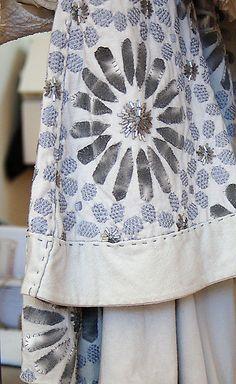 Alabama Chanin garment detail