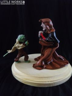 Star Wars - Master Yoda vs Darth Sidious