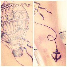 tattoo balão | ideias de fim de semana