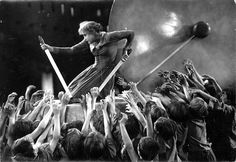 Metropolis is a 1927 German expressionist science-fiction film directed by Fritz Lang. The film was written by Lang and his wife Thea Von Harbou, and starred Brigitte Helm, Gustav Fröhlich, Alfred Abel and Rudolf Klein-Rogge.