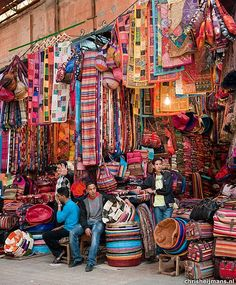 Souks in Marrakech Souks, Marrakesh, Morocco….would love to take a day to explore these souks. Agadir, Places Around The World, Around The Worlds, Places To Travel, Places To Go, Marrakech Morocco, Visit Marrakech, Tangier, Morocco Travel