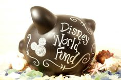 everyone needs a Disney World Fund, def going to do this for Bella and let her save her own money