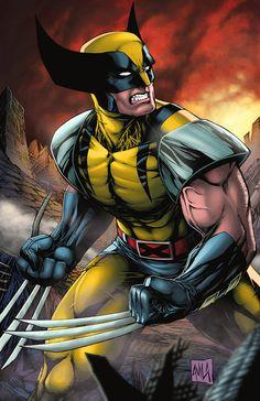 Classic Wolverine Print by Hanzozuken by hanzozuken on Etsy