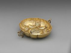 "Péter W. Kecskeméti (ca. 1610–ca. 1680). Sweetmeat dish, 1668. Hungarian, Kassa. The Metropolitan Museum of Art, New York. Gift of The Salgo Trust for Education, New York, in memory of Nicolas M. Salgo, 2010 (2010.110.33) | This work is featured in our ""Hungarian Treasure: Silver from the Nicolas M. Salgo Collection"" exhibition on view through October 25, 2015 #HungarianTreasure"