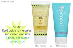 We've researched the EWG's short list of the safest sunscreens for kids, and sorted by price to find the best, non-toxic budget options for your family. You won't believe the price difference among them all!