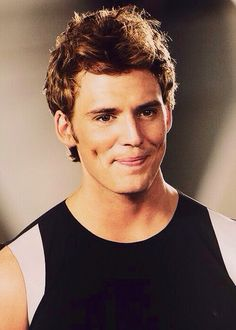 Can we all just take a moment and admire Finnick's dimples.