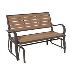Lifetime Glider Bench: Sports Fan Shop : Walmart.com
