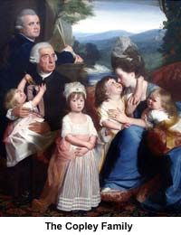 John Singleton Copley - Biographies for Children 2013-14, term 1