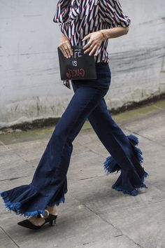 The Most Enviable, Chic Street Style Looks from New York, London, Mila Photos   W Magazine