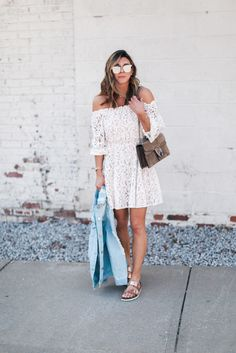 Lace Dress Styled Two Ways | Cella Jane