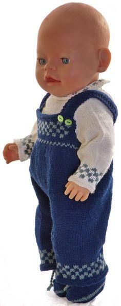 Breipatronen voor poppen