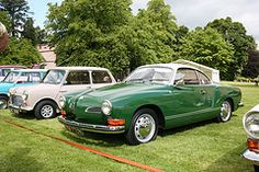 My dream car, the VW Karmann Ghia!    I had two VW Sciroccos and one VW Passat, but never the one I REALLY  wanted.... a yellow or green convertible Karmann Ghia.