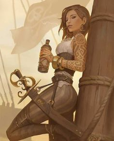 Fantasy Character Design, Character Design Inspiration, Character Concept, Character Art, Concept Art, Dungeons And Dragons Characters, Dnd Characters, Fantasy Characters, Female Characters