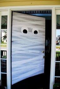 Mummy door