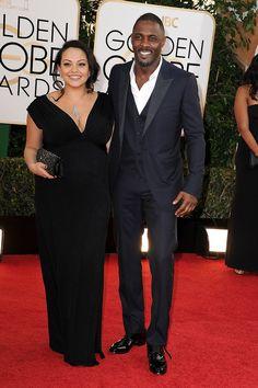 Idris Elba at the Golden Globes 2014 www.sharpesuiting.com