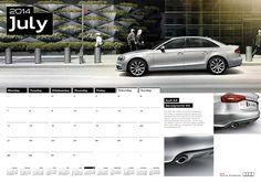 Audi Genuine Parts & Accessories Calendar 2014 - 8