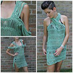 Ravelry: Ursula Swimsuit Coverup pattern by Abigail Haze