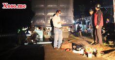 Lao xe máy vào xe tải đỗ bên đường, người đàn ông tử vong