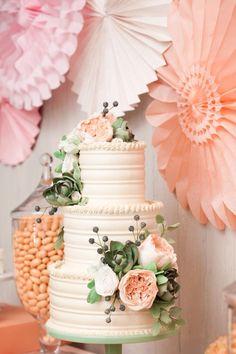 翻糖 蛋糕 生日 婚礼 派对 鲜花 布置