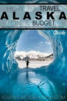 Want to visit Alaska and have your money go further? You CAN travel Alaska on a budget! Find out where to sleep, what to eat, what to do and when to go to help you budget travel Alaska. Pictured: Spencer Glacier, AK Go in August Ways To Travel, Places To Travel, Travel Destinations, Places To Go, Travel Tips, Travel Hacks, Travel Packing, Travel Essentials, Travel Info