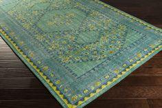 Safavieh Serenity Turquoise Gold Rug 8 6 X 12