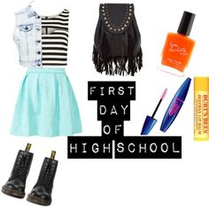 """First Day of High School"" by twix-chic on Polyvore"
