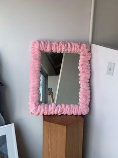 Funky Mirrors, Pastel Room, Pastel Decor, Pastel Colors, Indie Room, Cute Room Decor, Aesthetic Room Decor, Room Ideas Bedroom, Dream Rooms