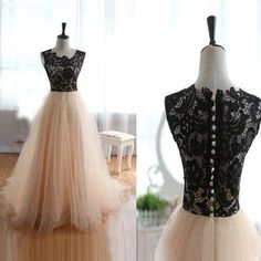 Charming Prom Dress,Tulle Prom Dress,Sleeveless Prom Dress,A-line Prom Dress,
