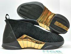 Nike Air Jordan Retro XV 15 DB Doernbecher Black Gold Authentic BV7107-017  NIB   d2efe5153