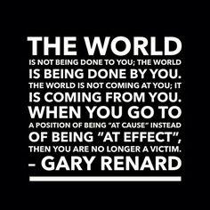 #Gary Renard #circumstances #life