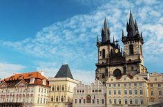 Prague  Enter to win free luggage!