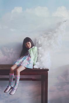 By the young art photographer Lissy Elle Laricchia, who is an incredibly talented 18 year old Canadian.  For kids fashion label fäfä...