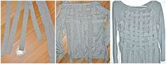 Trash To Couture: Basket Weaving old tshirts