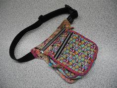 Hip-Bag oder Hüfttasche ... Modell allerliebste Minieulen ... viel benutzt. Eigener Schnitt und selbst genäht.