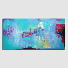 This table exists in a single copy, dated and signed by the author, A.Mour professional painter.  Dimensions: 97x195cm / 38x77 inches Medium: Acrylic,