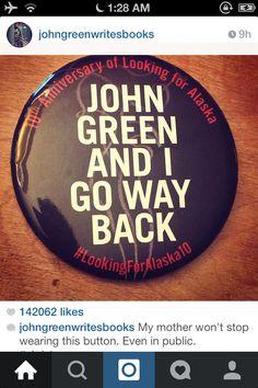 I LOVE JOHN GREEN