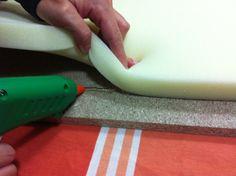 x4duros.com: Diy: El cabecero tapizado de Isabel. Paso a paso