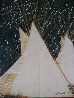 Crow Tipis In Early Snow - Kevin Red Star Indian Teepee, Star Art, American Artists, American Indians, Art Images, Crow, Nativity, Art Projects, Poster Prints