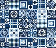 Tiling classic blue custom fabric by colour_angel_by_kv for sale on Spoonflower Blue Fabric, Fabric Textures, Textures Patterns, Tiling, Surface Pattern Design, Custom Fabric, Spoonflower, Color Inspiration