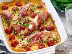 Kalorisnål mat behöver inte vara tråkig! Den här veckan kan du njuta av parmalindad kyckling i krämig sås och rostbiff med ugnsbakad lök. Den fräscha laxen med kaviarcrème passar fint en...