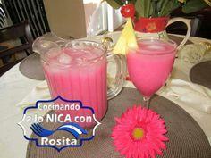 Refresco de Arroz con piña. Nicaraguan Food, Native Foods, Comida Latina, Food And Drink, Cooking Recipes, Dishes, Drinks, Childhood, American
