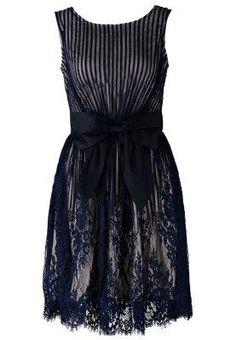 Little Mistress Korte jurk Blauw