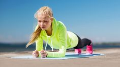 Planks are quick and effective and will help you become the best runner you can be.