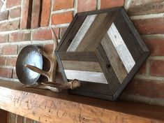 Excited to share the latest addition to my shop: Reclaimed wood wall art - Barn wood hexagon - Modern rustic decor HEX Looking for something to spice up your decor? How about a rustic, modern hexagon! Reclaimed Wood Wall Art, Wood Wall Decor, Barn Wood, Wood Art, Modern Rustic Decor, Wood Mosaic, Cottage Interiors, Do It Yourself Home, Old Wood