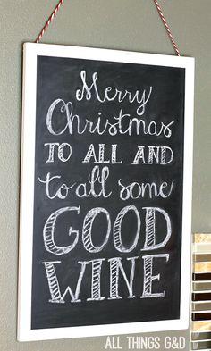 Cheeky Christmas sign!